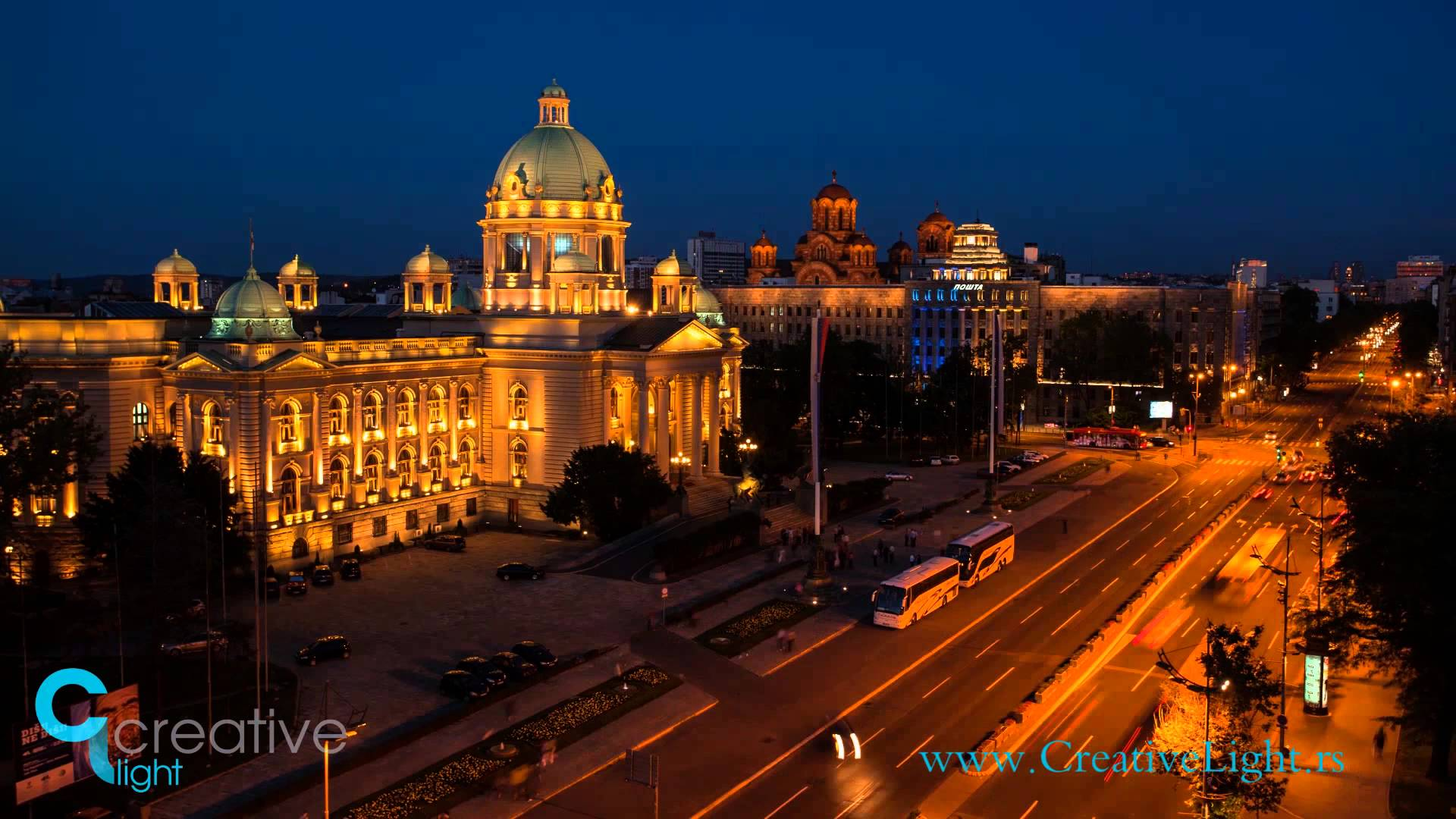 A Night in Belgrade [Motion Timelapse, Video]…