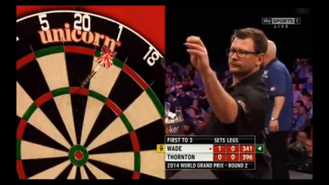 Zum ersten Mal in der Geschichte – 2 Nine Darter in einer Partie [Thornton vs. Wade, Darts, Video]…