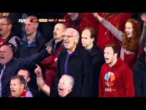 Die Anfield Road singt Steven Gerrard ein Lied [Video]…