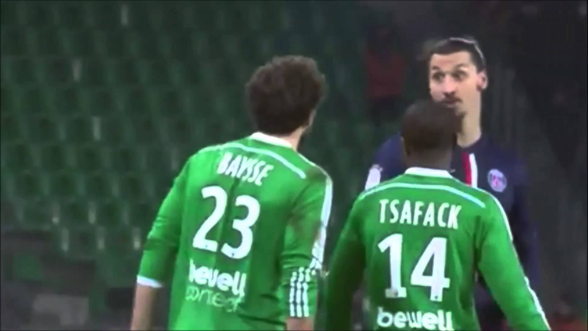 "Zlatan Ibrahimovic sagt: ""Wat, wat, wer bist du denn?"" [Video]"