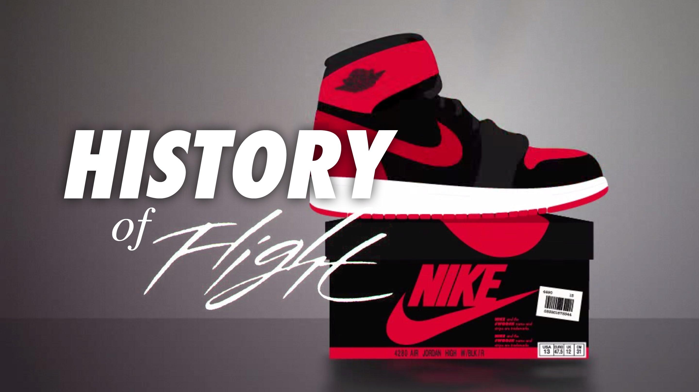 Die Geschichte des Air Jordan – A History Of Flight! [Video]