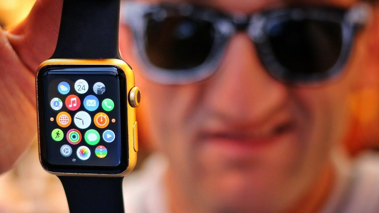 How to Turn Your Apple Watch Gold oder wie mache ich aus einer schwarzen Apple Watch die Goldene? [Video]