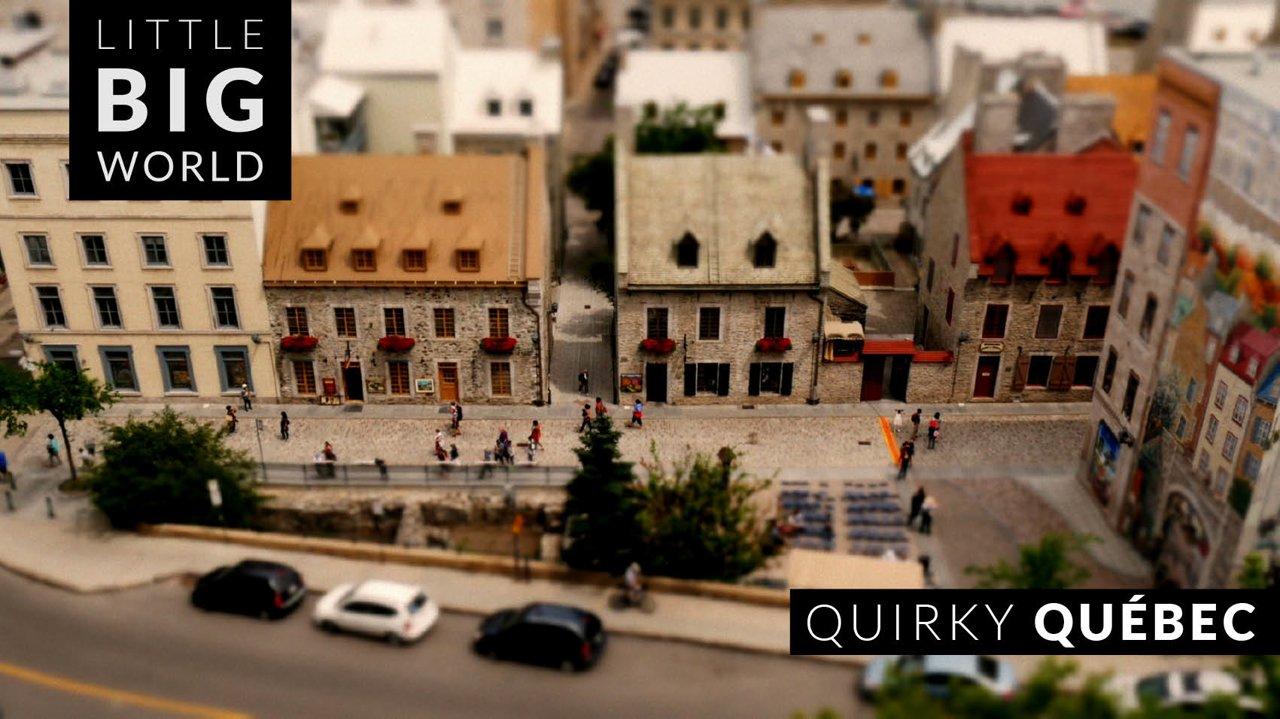 Quirky Quebec [Tiltshift, Video]…