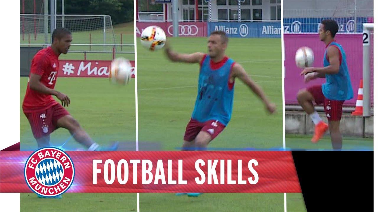 Bayern-Stars halten den Ball hoch…über 40 Meter! [Video]