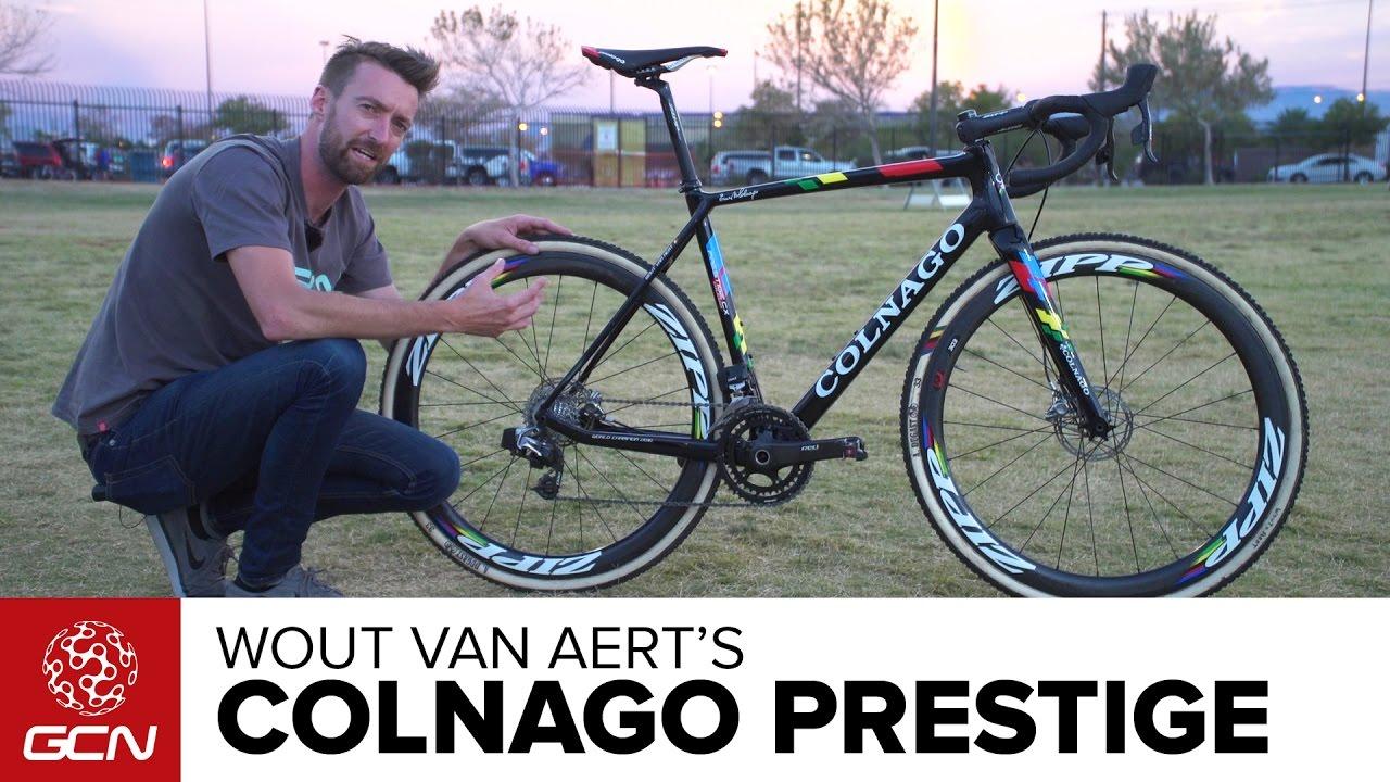 Cyclocross, Wout Van Aert's Colnago Prestige [Video]…